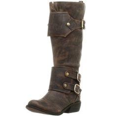 Amazon.com: Two Lips Women's Wyoming Boot,Dark Brown,6 M: Shoes