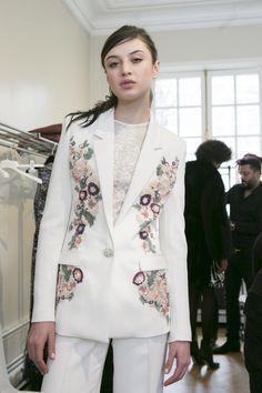 Zuhair Murad at Paris Fashion Week Fall 2017 - Backstage Runway Photos