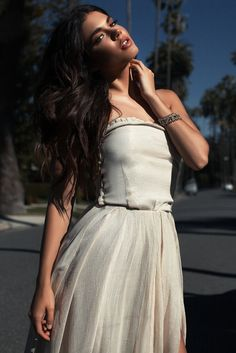 Picture of Aarika Wolf Dahlia, Wolf, White Dress, Gowns, Model, Pictures, Collection, Dresses, Fashion