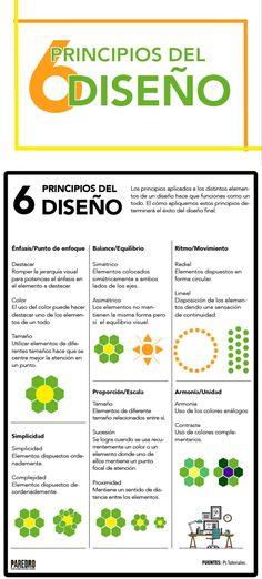 6 principios del Diseño