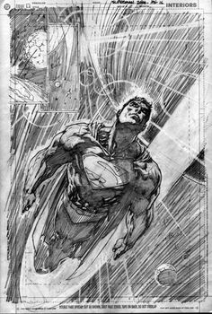 Superman by Jim Lee  Auction your comics on http://www.comicbazaar.co.uk