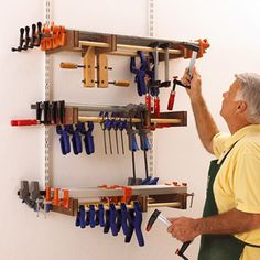 A tool for every job, and a place for every tool. That simple adage can be used to organize any shop. If each tool has its own home, you?ll know where to find it and where to put it when you?re done using it. View these shop-tested plans to find the ones just right for your shop.