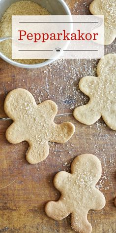 Because it makes so many, this Pepparkakor recipe is perfect for the holidays. Friends and family will thoroughly enjoy these tiny spicy Swedish cookies. Easter Cookies, Birthday Cookies, Holiday Cookies, Cookie Tray, Shaped Cookie, Pepparkakor Recipe, Swedish Cookies, Gingerbread Man Cookie Cutter, Xmas Desserts