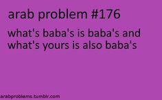 Baba gets everything haha