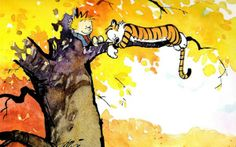 Calvin and Hobbes Comics Poster Best Calvin And Hobbes, Calvin And Hobbes Quotes, Calvin And Hobbes Comics, Comic Poster, New Poster, Comic Art, Calvin And Hobbes Wallpaper, First Day Of Autumn, Google Doodles