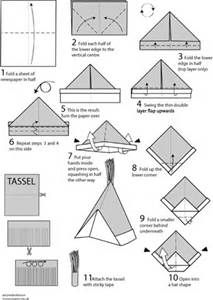 How to Make Paper Hats   In south africa, Why not and Origami