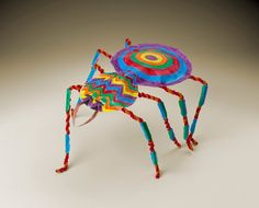 Sculpture Engage students with this Tarantulas! Explore the characteristics of this colorful, mysterious arthropod within your classroom! 3d Art Projects, Classroom Art Projects, School Art Projects, Art Classroom, Sculpture Lessons, Art Sculpture, Sculptures, Art Journal Pages, Art Halloween
