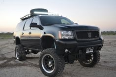 Lifted chevy suburban