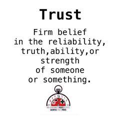 #NVRSTP #Trust