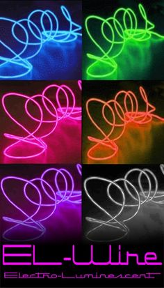 Portable EL (electro-luminescent) Light Up Wire 78eab3a82d6c