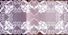 View album on Yandex. Crochet Placemats, Crochet Doily Patterns, Crochet Borders, Crochet Motif, Crochet Doilies, Crochet Lace, Filet Crochet Charts, Cross Stitch Fabric, Kids Rugs