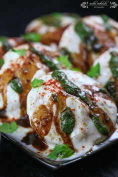 Instant Fat Free Dahi Vada ( Microwave Recipe) - Crave Cook Click