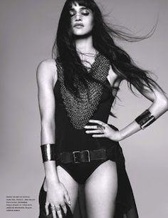 magazine-photoshoot : Sofia Boutella by Jean-Baptiste Mondino Magazine Photoshoot For Numero Magazine February 2013
