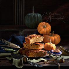 """Тыквенные блонди с корицей, пошаговый рецепт с фото по книге Анастасии Зурабовой """"Начни с десерта!"""". Вкусно, полезно и быстро."""