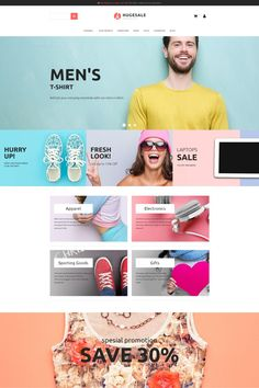 Wholesale Store Responsive MotoCMS Ecommerce Template #65060