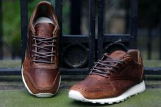 Reebok CL LTHR LUX 'Brogue' Pack | Now Available | Footpatrol