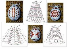 Christmas Archives - Beautiful Crochet Patterns and Knitting Patterns Christmas Archives - Beautiful Crochet Patterns and Knitting Patterns Always wanted to be able to knit, however not cert. Easter Egg Pattern, Christmas Crochet Patterns, Holiday Crochet, Crochet Stone, Crochet Ball, Crochet Motifs, Crochet Diagram, Crochet Crafts, Crochet Projects
