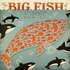 Big Fish of 2008 by Jessica Hische