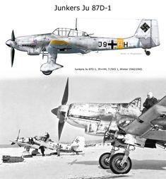 Junkers Ju 87D-1 J9+HH 7./STG1 winter 1942-43