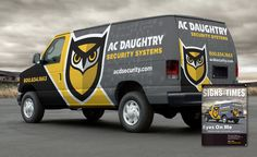 Redesigned brand and truck wrap design for this NJ based security company. - NJ…