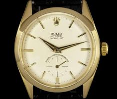 Rolex Oyster Precision Veriflat Vintage Gents 18k Yellow Gold Silver Dial 6512 Vintage Rolex, Wrist Watches, Fashion Watches, Omega Watch, Chronograph, Gadgets, Yellow, Silver, Gold