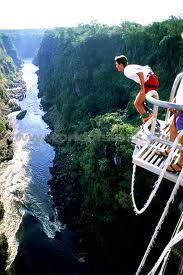 Bunjee Jumping, okay this might be on the bottom of my bucketlist.. :P