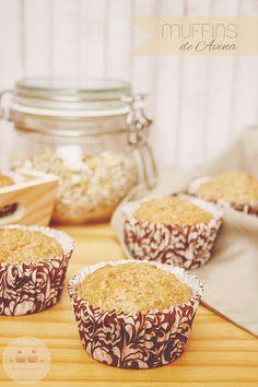 Muffins de Avena: muy sanos y ligeros (con productos ecológicos)