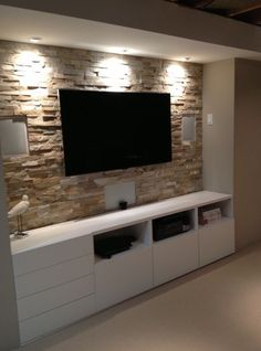 Beautiful exposed brick feature wall