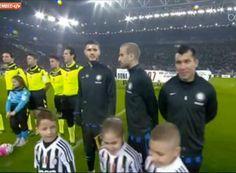 Medel en el Juventus - Inter de Milan