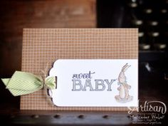5 minute baby card!
