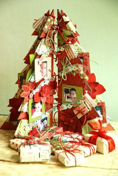 #christmas #decor #scrapbooking scrappingcrazy : 3 projects using 1 paper pad