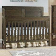 Ti Amo Castello Convertible Crib Finish: Wire Brushed Brown