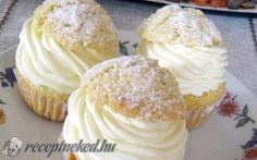 Képviselőfánk muffin recept fotóval