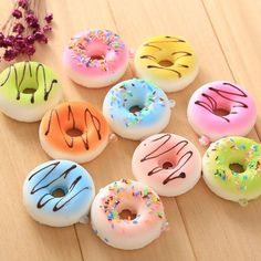 Donut SQUISHIES!