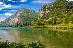 Lake Toblino, Trentino-Alto Adige, Italy