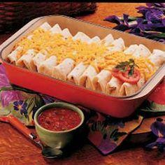 Chicken & Rice Burritos