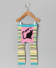 Pink & Blue Meow Cat Leggings - reminds me of Cutie @Kayin Griffith @Kalia Miller