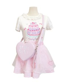 *Be my baby *love shape lolita bag Free shipping - Thumbnail 3