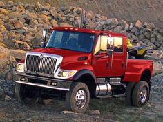 2005 International CXT FA Rocks Pickup