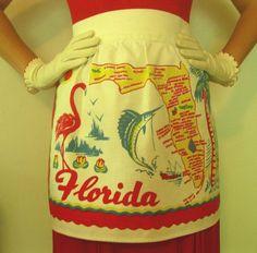 souvenir vintage tea towels 1950s - Google Search