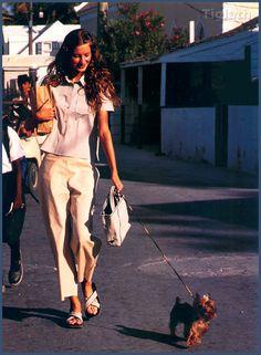 ☆ Gisele Bundchen   Photography by Arthur Elgort   For Vogue Magazine US   April 1999 ☆ #giselebundchen #arthurelgort #vogue #1999