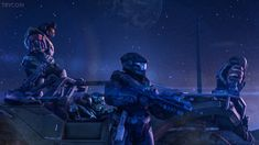 Noble Team by Master Chief And Cortana, Science Fiction, Halo Game, Halo Reach, Gears Of War, Second World, Great Videos, Military Art, Videogames