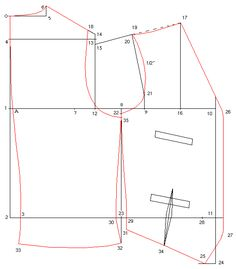 Drafting Men's Single-Breasted Waistcoat Pattern, from: http://trantanphat.com/tailoring/drafting/sbvest_insts.html
