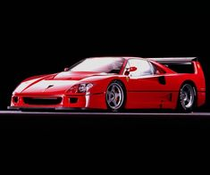 Ferrari F40 LM - If I had a tree that grew money this is the first thing I would buy.