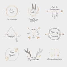 Travel Quotes With Hand Sketched Badges Ornament Vector Set Free Happy New Year Adobe Illustrator, Vector Can, Quotes About Photography, Travel Photography, Hand Sketch, Travel Design, Travel Quotes, Free Design, Design Ideas