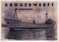 Original-Werbung/ Anzeige 1957 - KRÖGERWERFT / RENDSBURG - ca. 110 x 75 mm