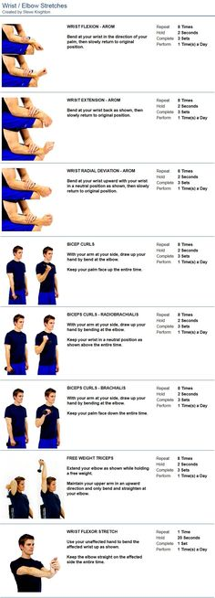 Oakville Chiropractor | Nottinghill Family Wellness Centre :: Wrist / Elbow Stretches