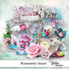 "Photo from album ""Romantic Heart / Романтическое сердце"" on Yandex. Free Digital Scrapbooking, Digital Scrapbook Paper, My Scrapbook, Digital Papers, Heart Template, Flower Template, Crown Template, Paper Butterflies, Butterfly Cards"