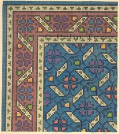 Diy Embroidery, Cross Stitch Embroidery, Loom Patterns, Cross Stitch Patterns, Latch Hook Rugs, Graph Design, Cross Stitch Pictures, Rugs On Carpet, Carpets