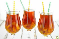This iced tea recipe is refreshing and low calorie. Try fruit tea instead of drinking sodas.